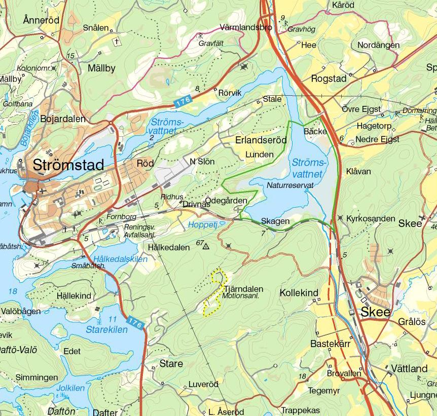 strømstad kart Strömstad – Pilaris – Kjerstis blogg strømstad kart