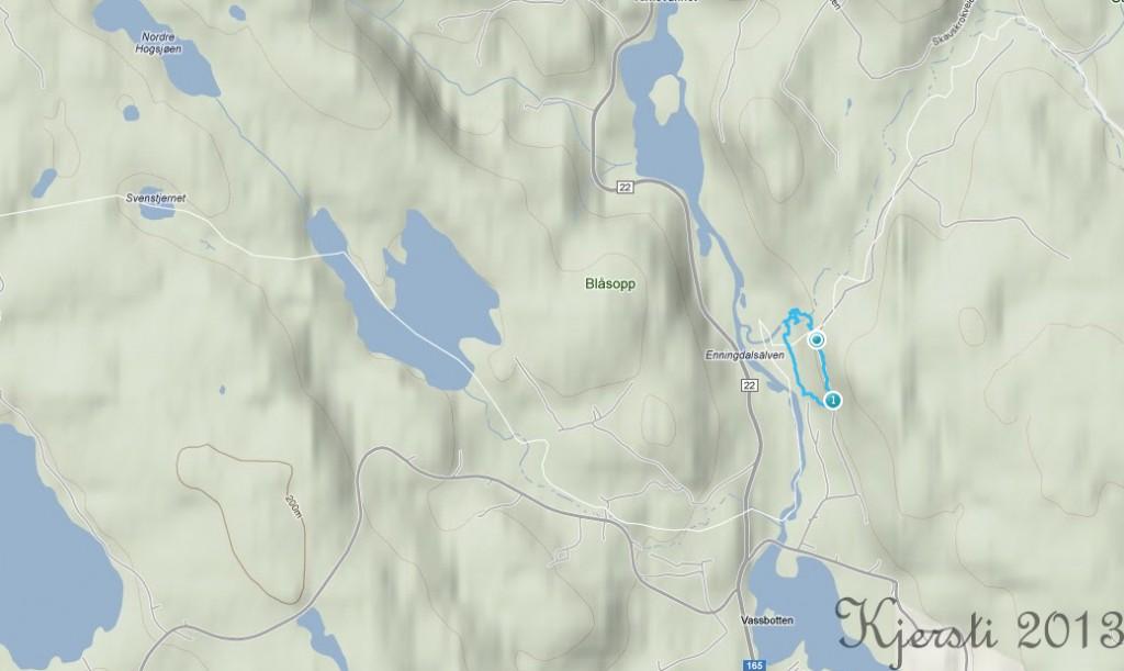 7 010413 Elgåfossen - runde fra svensk side
