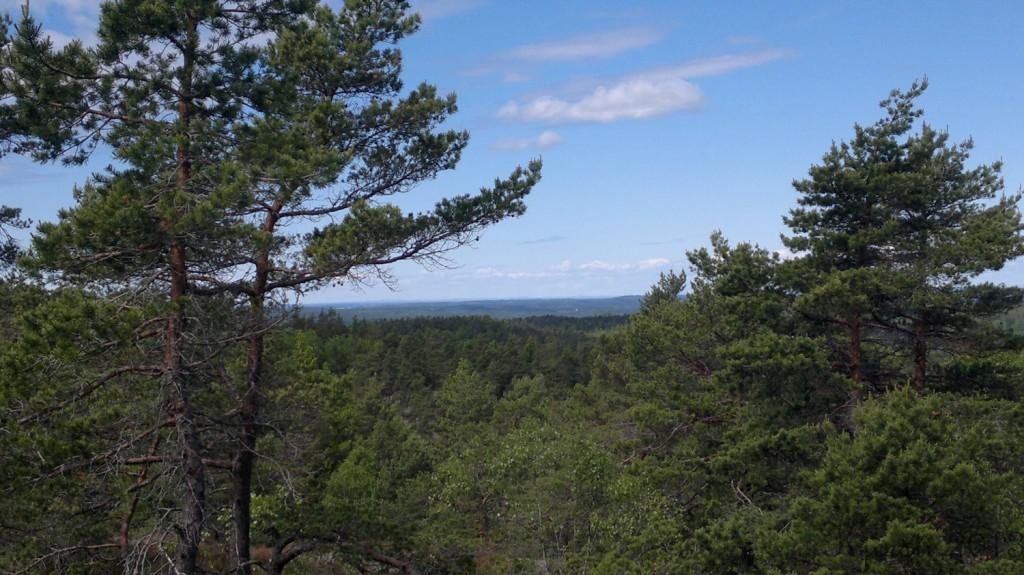 1 090613 Utsikten ved Drøftetrauet