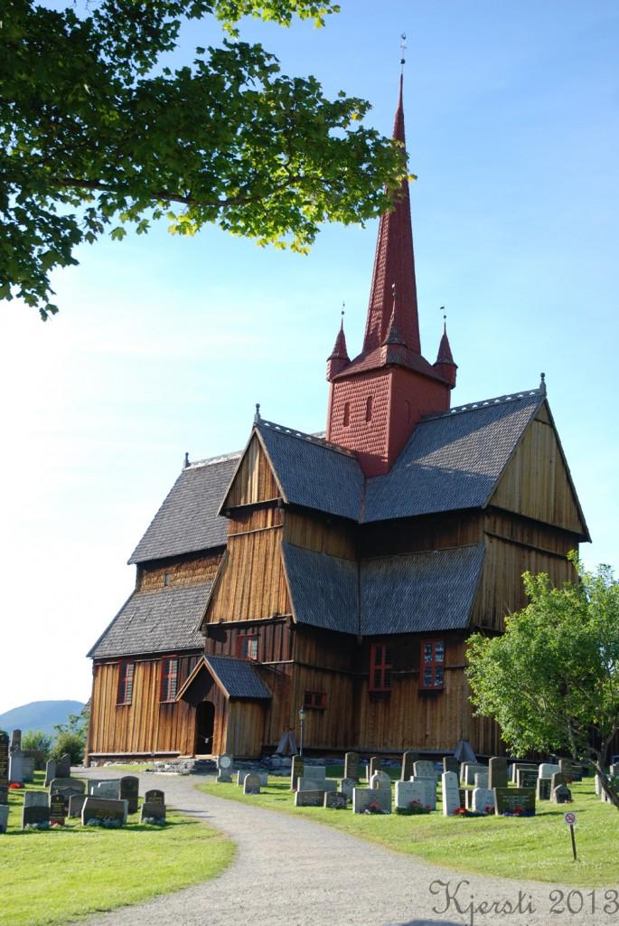4 220713 Ferietur - Ringebu stavkyrkje