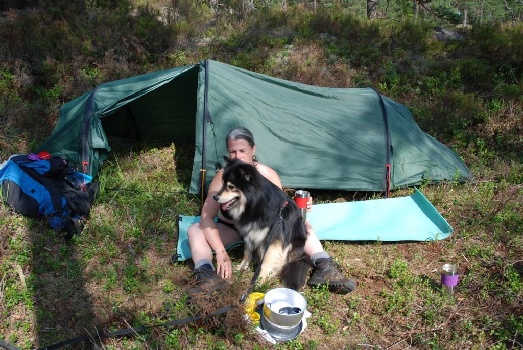 9 140713 130713 Telttur i Tresticklans Nationalpark - Kleningen