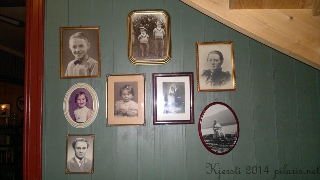 5 140214 020214 Familiebilder på veggen