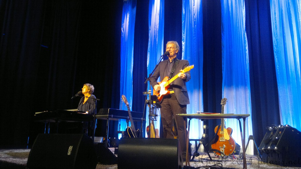 1 051014 041014 Ingrid Bjørnov og Øystein Sunde på Brygga kultursal sammen med C