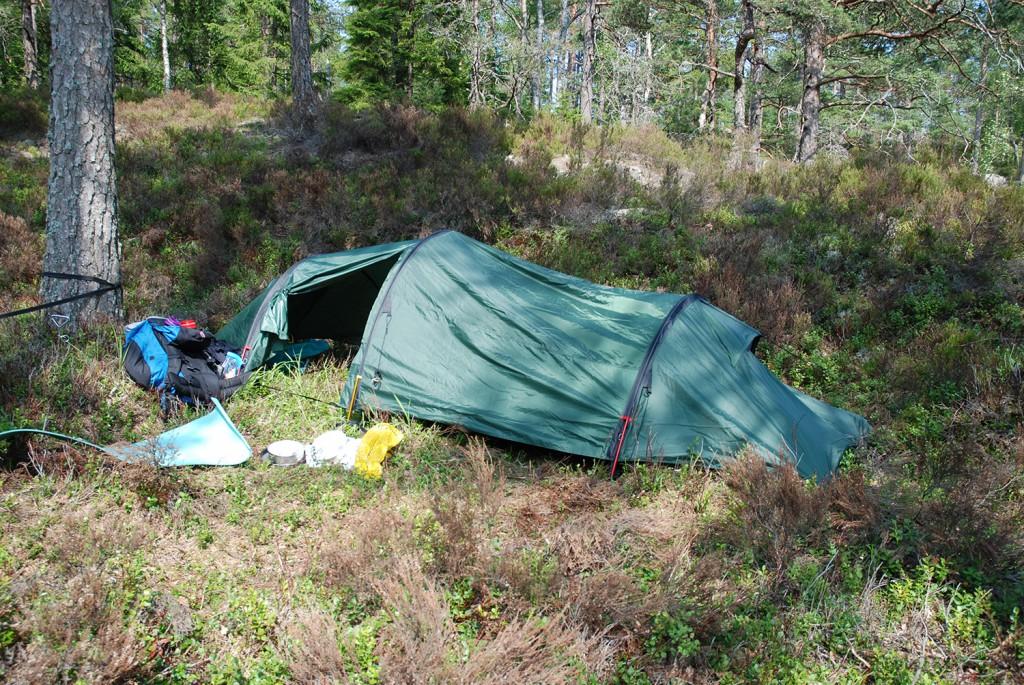 Bilde fra teltturen sommeren 2013