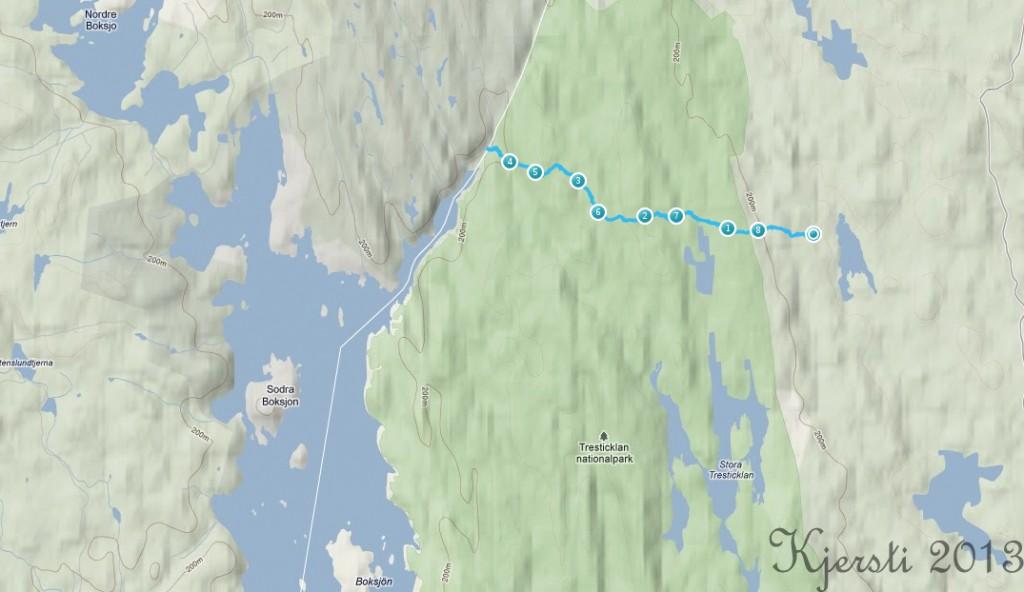 11 010413 Råbocken - Budalsvika - Råbocken