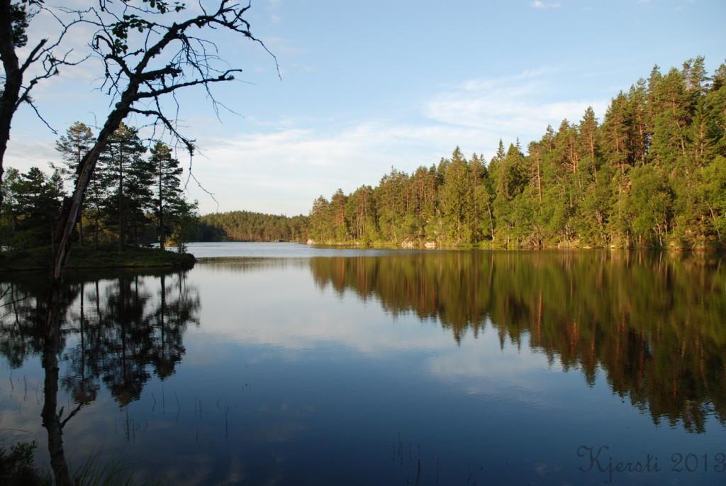 16 140713 Telttur i Tresticklans Nationalpark - Kleningen