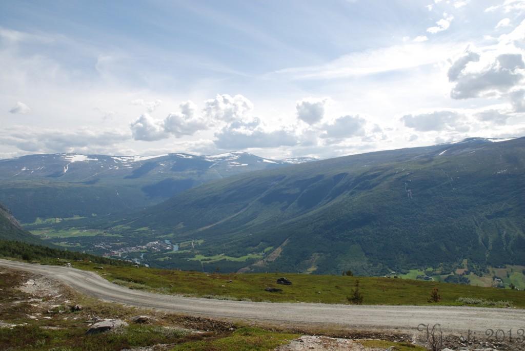 16 240713 Ferietur - Utsikt ned til Bismo
