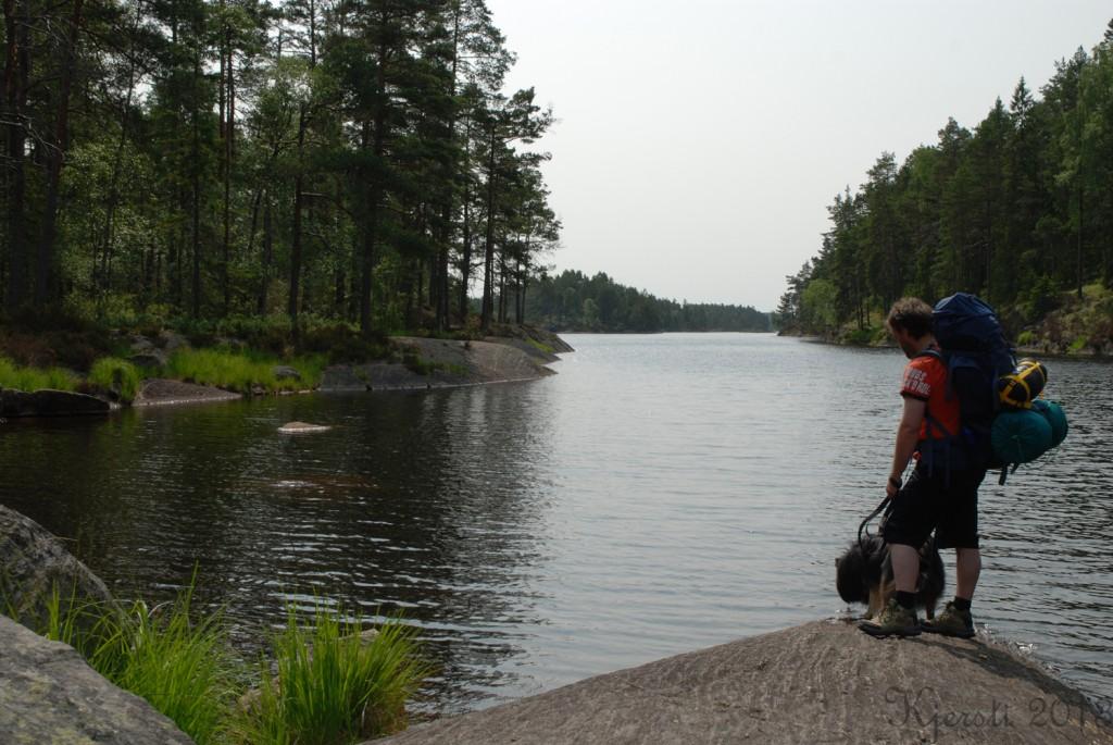 3 140713 130713 Telttur i Tresticklans Nationalpark - Stora Tresticklan