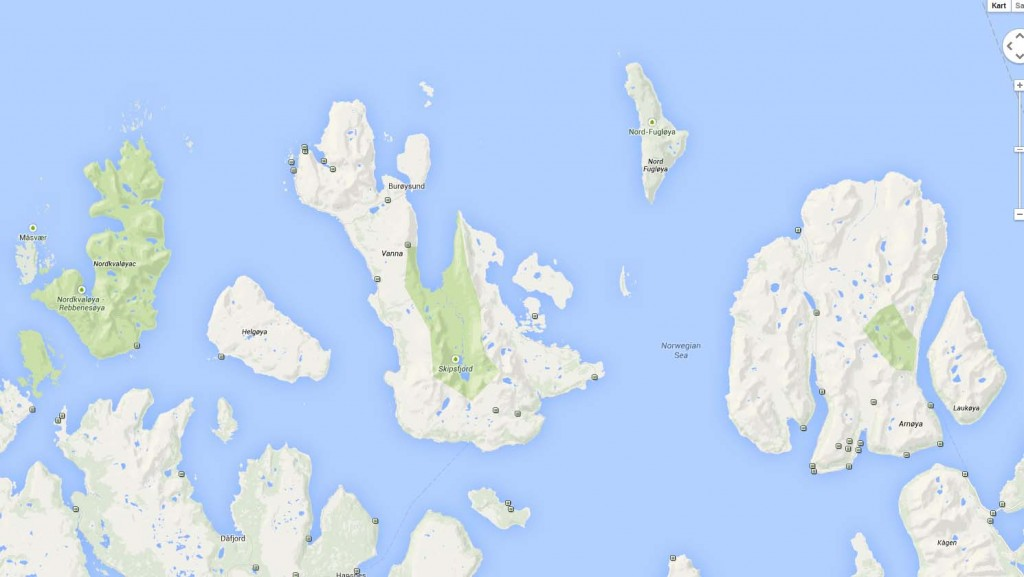 2 100514 Kart overVannøya